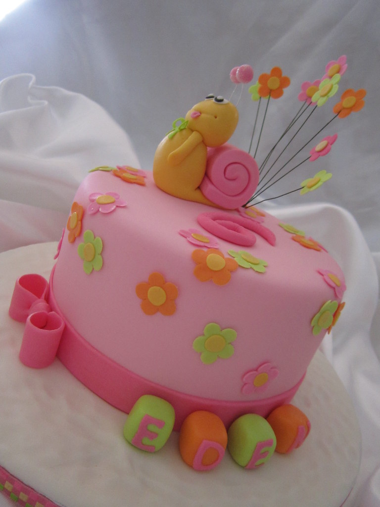 Snail Birthday Cake Beryl Flickr
