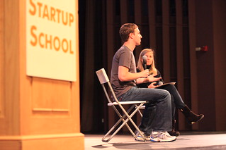 Mark Zuckerberg speaks at Startup School | by Robert Scoble