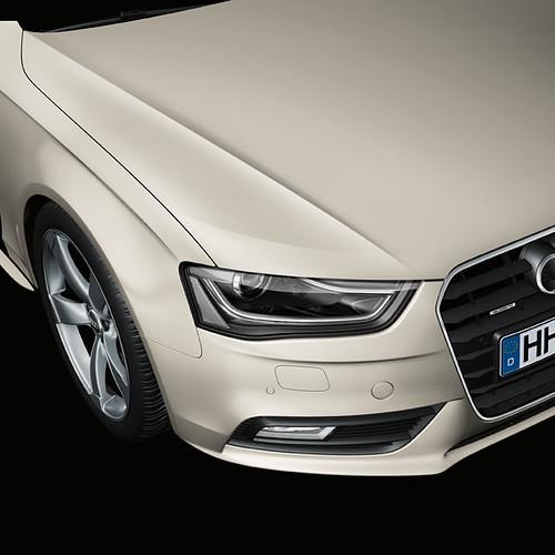 New Audi A4 Cuv 233 E Silver Metallic Paintwork Cuv 233 E