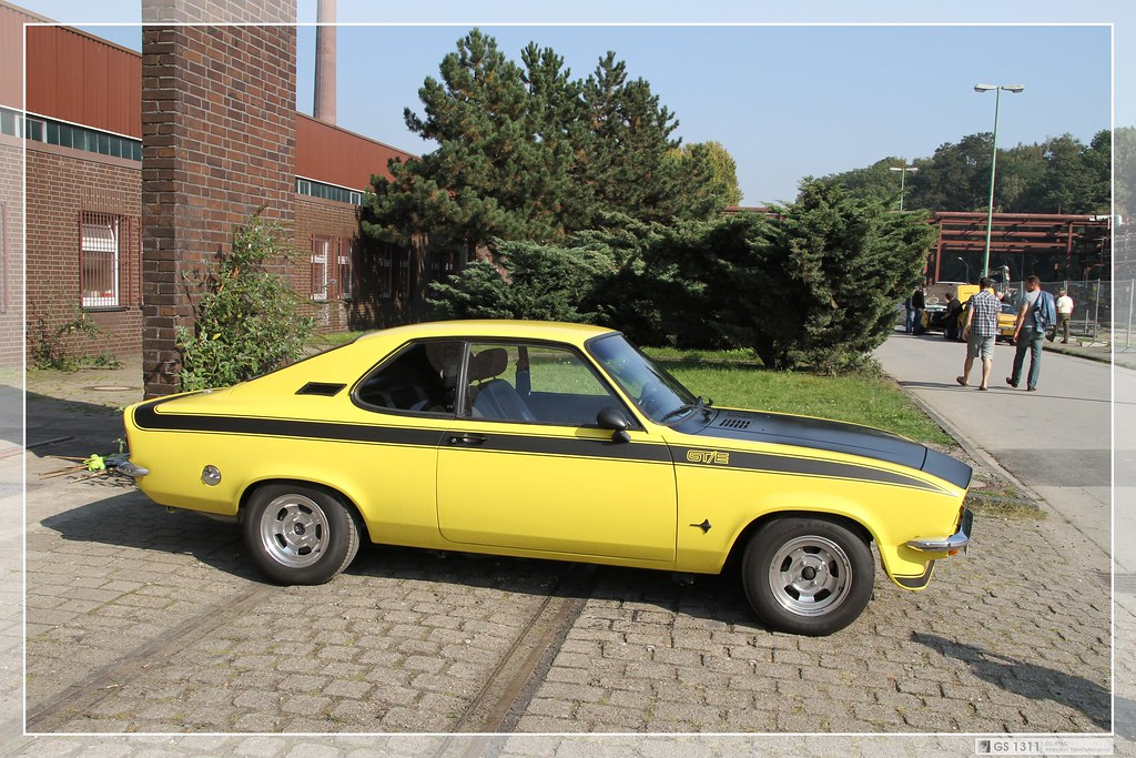 1974 1975 Opel Manta A Gt E 05 The Manta A Was