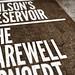 SAoS - Wilson's Reservoir farewell show poster - Detail