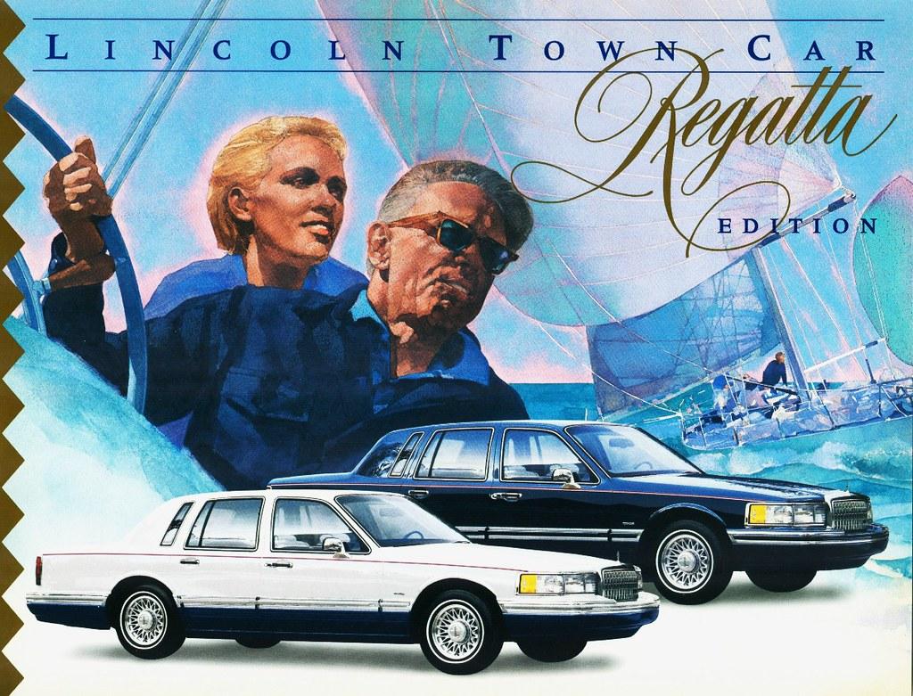 1994 Lincoln Town Car Regatta Edition Your Choice Of