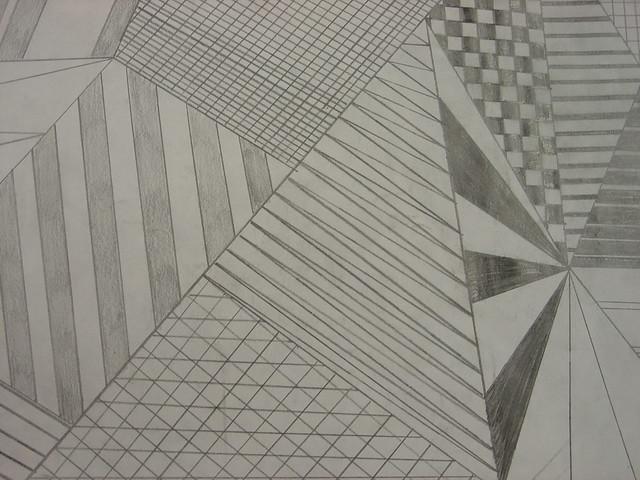 Straight Line Drawing Artist : Student work art fundamental straight line drawing