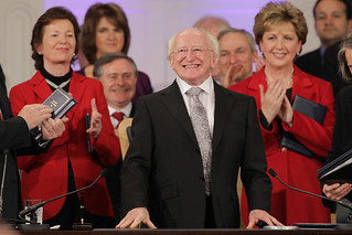 Presidential Inauguration Michael D Higgins | by Irish Defence Forces