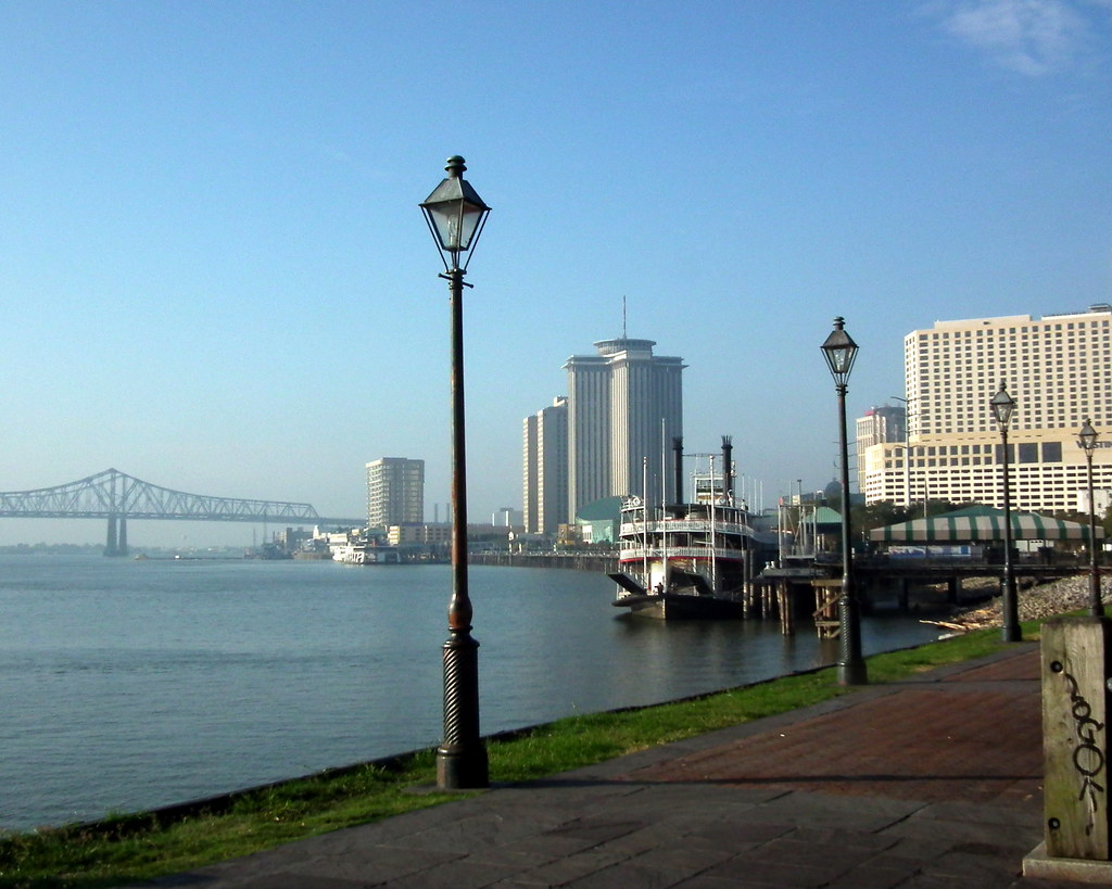 The Riverwalk New Orleans   The View Of Downtown From The Miu2026   Flickr