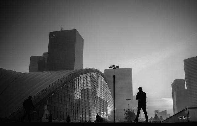 daybreak - Paris la Défense