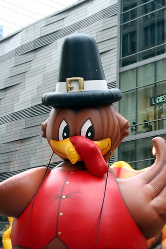 Teddy Turkey, the mascot of the McDonald's Thanksgiving Parade | by Marit & Toomas Hinnosaar