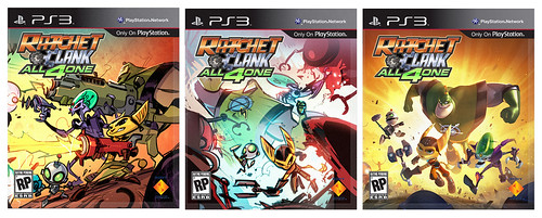 Ratchet & Clank All 4 One pre-release box art: Team Smackdown | by PlayStation.Blog