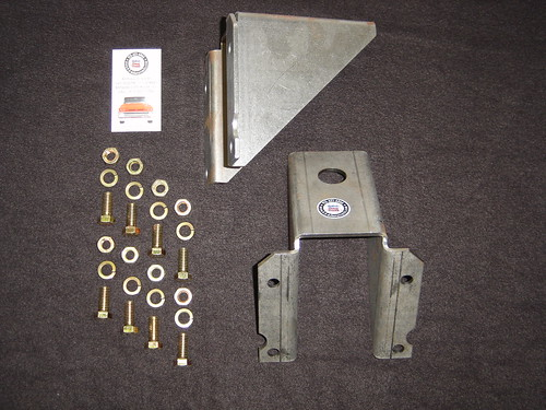 63 66 Chevy C10 K10 Truck Rear Frame To Cab Perch Kit