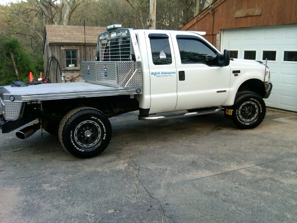 flatbed for f250 2