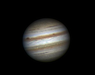 Jupiter (RGB) - 08:03UT 25 Oct 11 | by Steve's Astrophotography