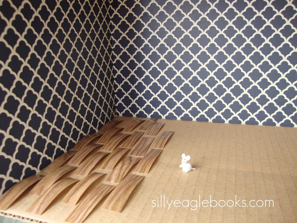 Dollhouse Wooden Floor And Wallpaper Vanessa Flickr