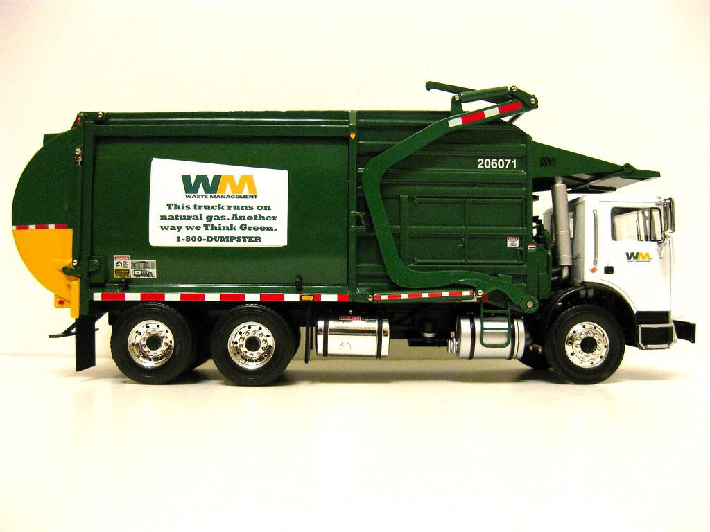 First Gear Waste Management Front Load Garbage Truck Flickr