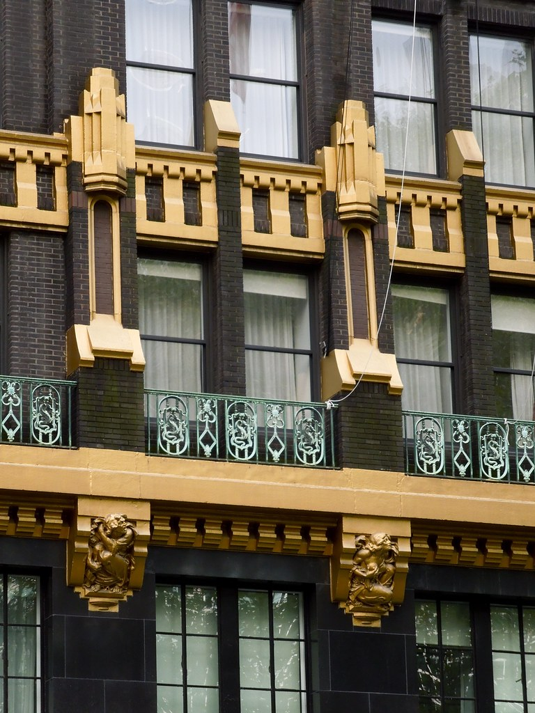 Architectural Detail American Standard Building 40 West