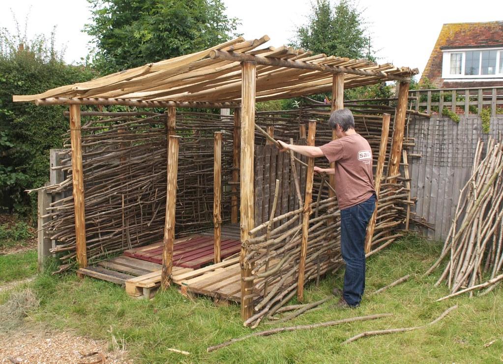 Dsc 8375 Firewood Shelter Peplers Blogspot Com Building