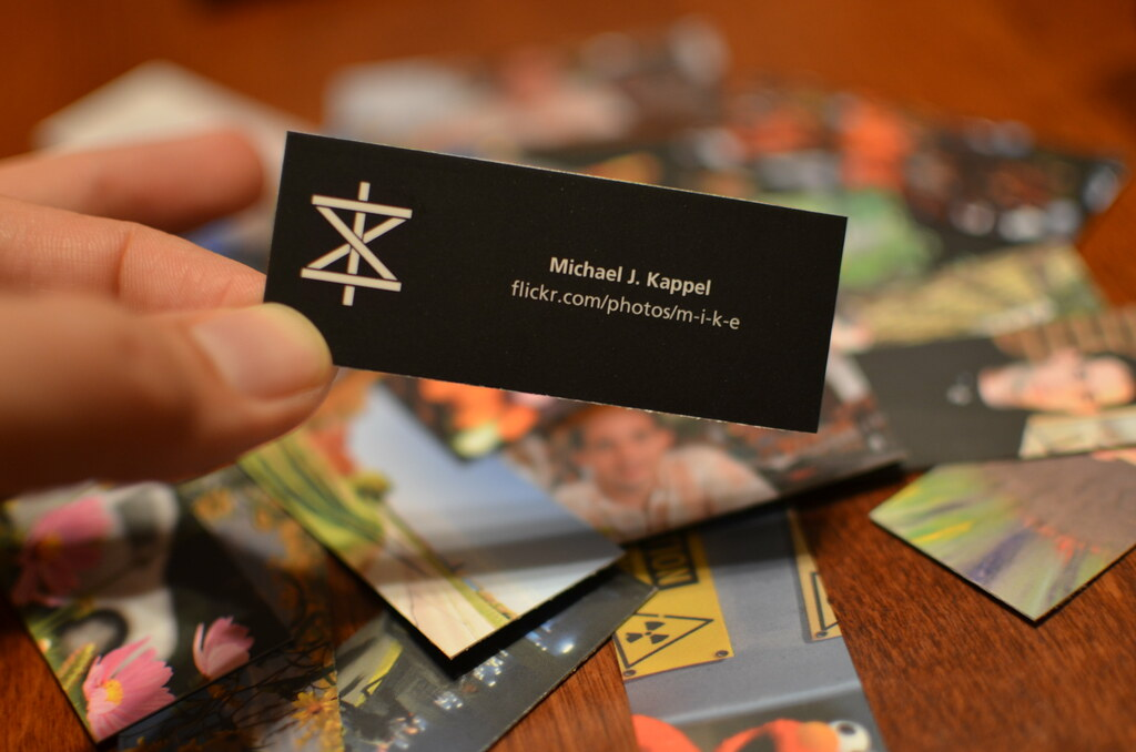 Michael J. Kappel Moo Mini Flickr Business Card | Michael J.… | Flickr