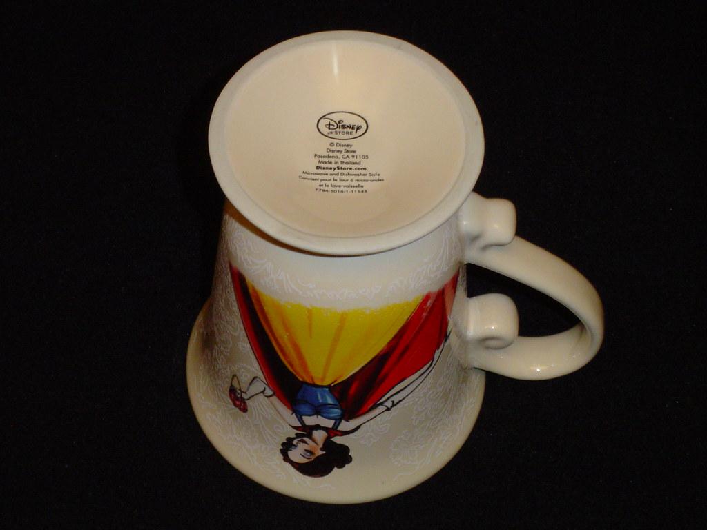 Disney Princess Designer Collection Snow White Mug Botto