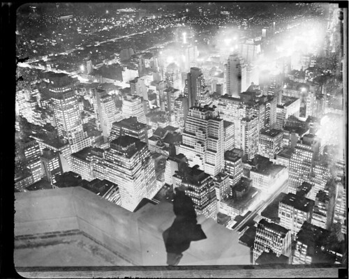 New York City at night | by Boston Public Library