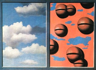 Magritte.Pink Belles, Tattered Skies | by El ladron de Bagdad