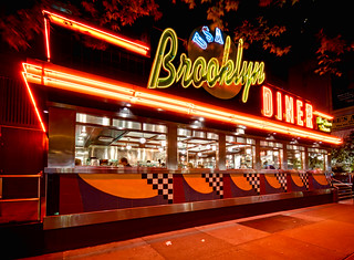 Brooklyn Diner at Night | by Walter Arnold Photography