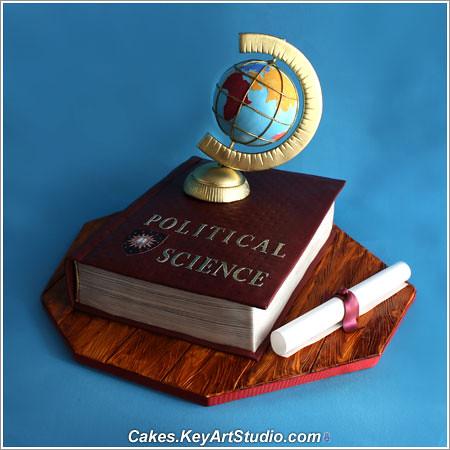 Political Science Graduation Cake Larissa Cakes