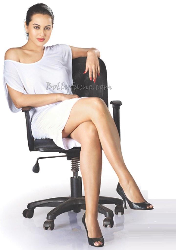 sonakshi sinha flaunting hot glossy legs     bollyfame c flickr