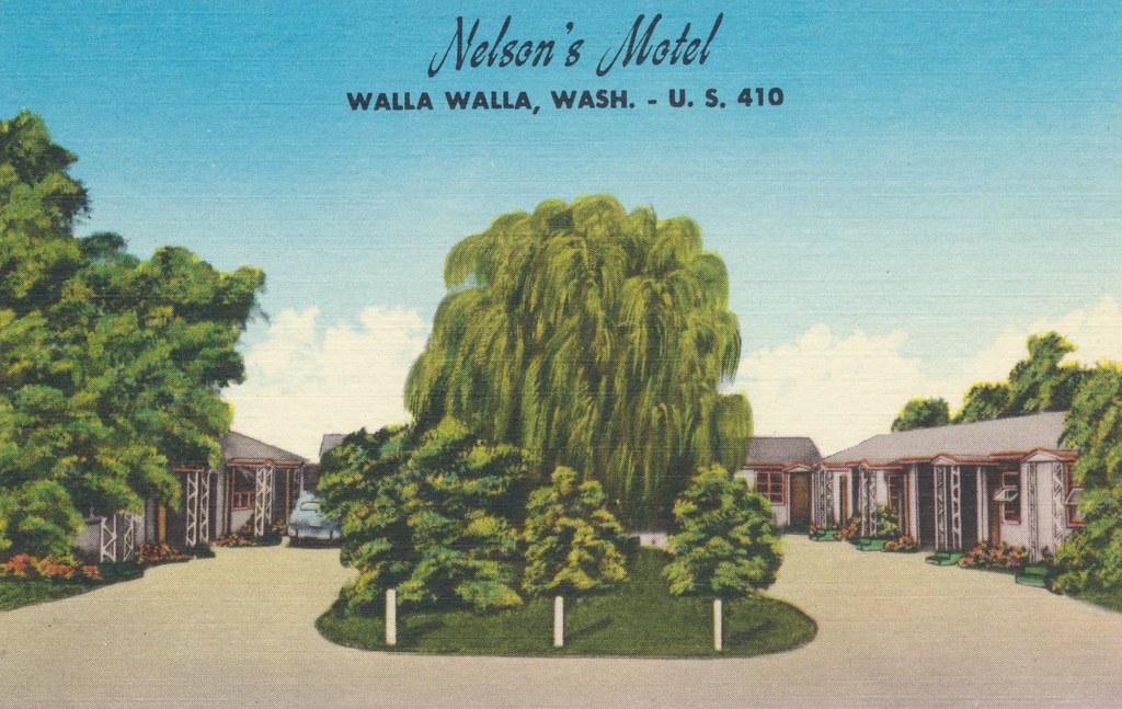 Nelson's Motel - Walla Walla, Washington