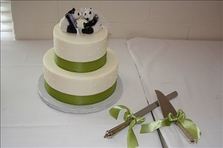 panda cake and knives | by scrunchybear