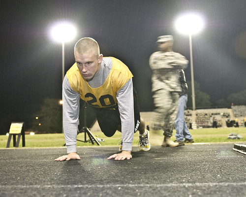 Warrior push-up | by The U.S. Army