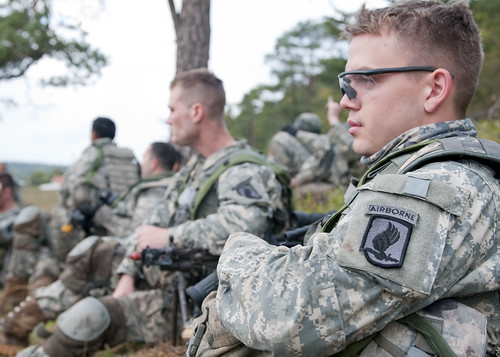 Lott listening to after action review | by U.S. Army Europe