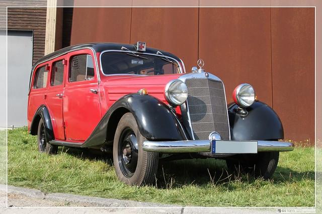 1946 1953 mercedes benz 170 v ambulanz 09 the for 1946 mercedes benz
