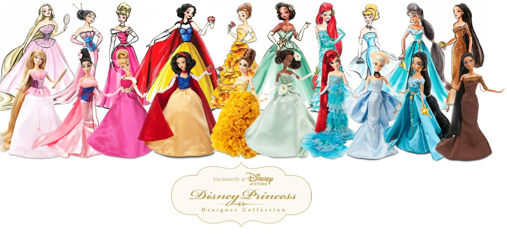 Disney Princess Designer Collection Graphic Put