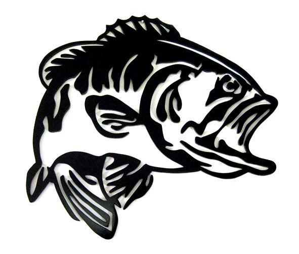 peixe black bass mdf 0 60 x 0 50 m andr u00e9 brunharo Official Flickr Logo Flickr Icon Vector