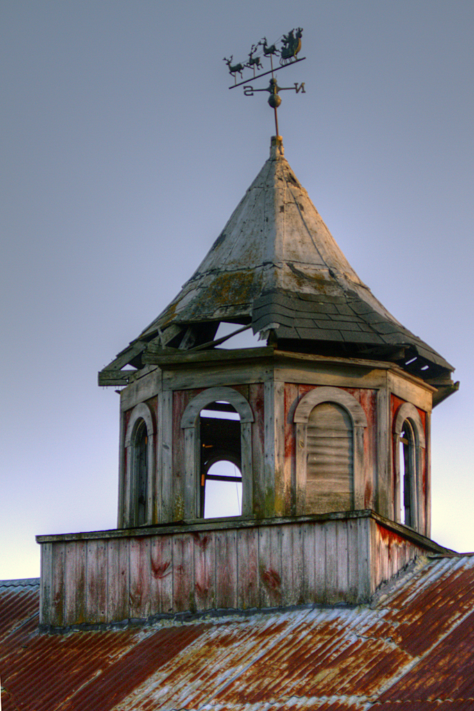 Img 9821 hdr abandoned building syed hj flickr for Country cupola