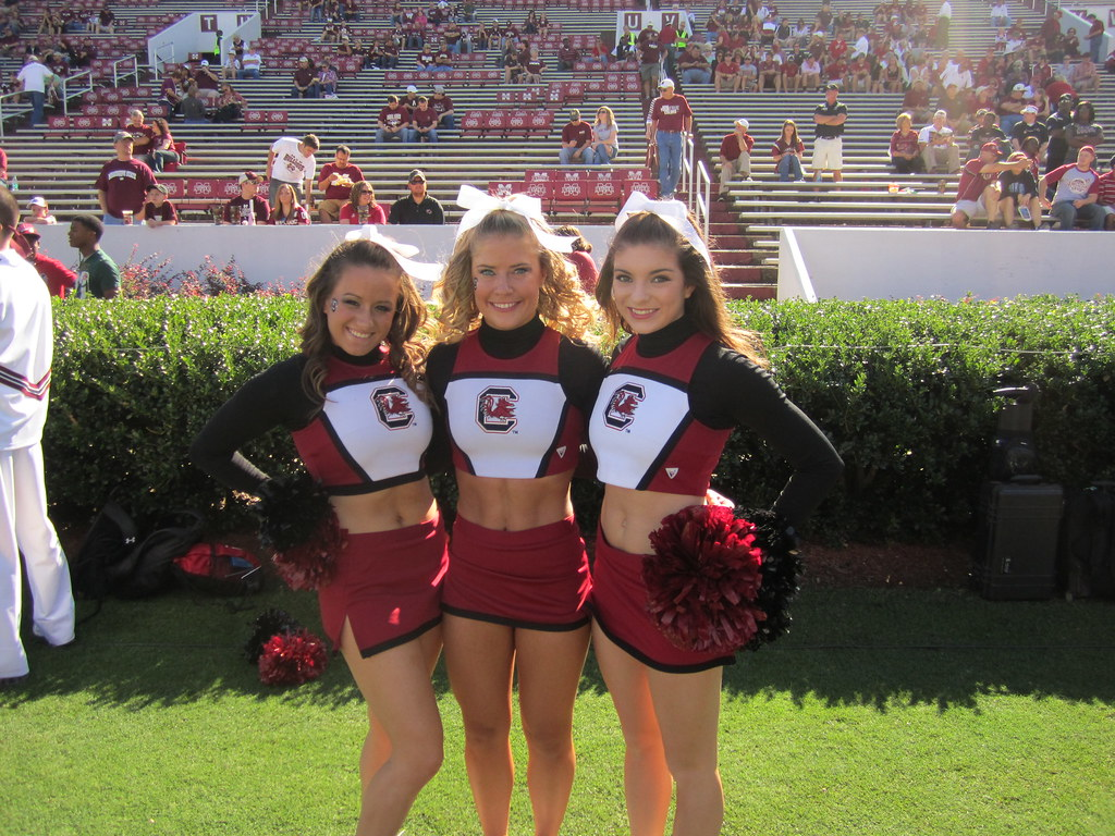 Image result for university of south carolina cheer
