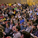 audience at Logan Hall