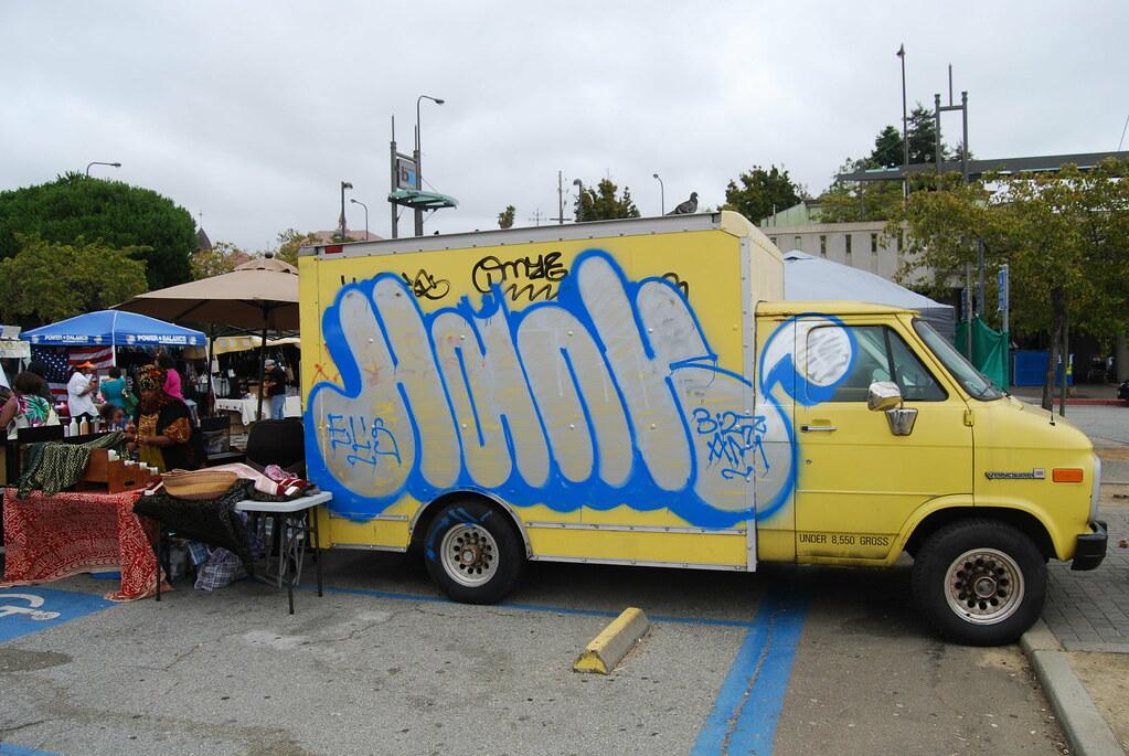 HANK Truck Graffiti - Berkeley, CA