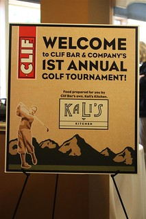 Clif Bar Charity Golf Tournament - Kali's Sign | by ClifBar&Co