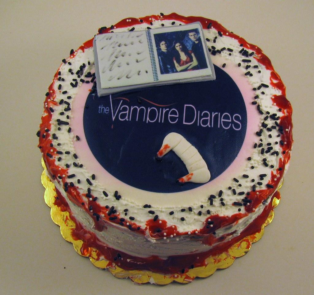 Vampire Diaries Cake Cheryl Flickr