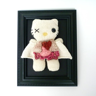 Knitted Hello Kitty Dissection | by estonia76
