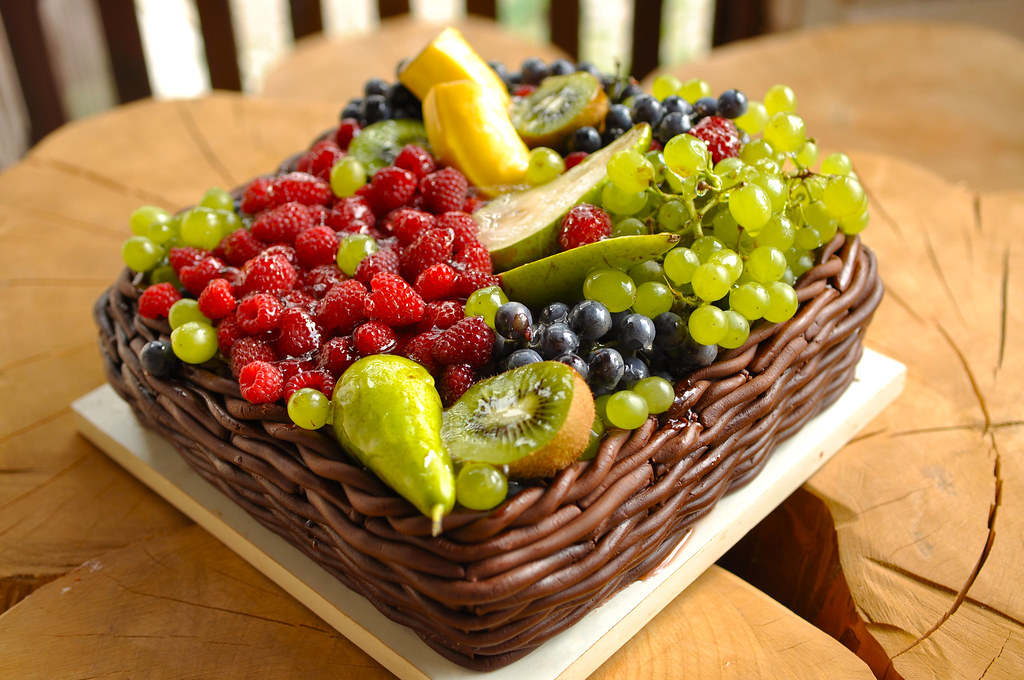 fruit basket cake fruit basket cake r flickr 4389