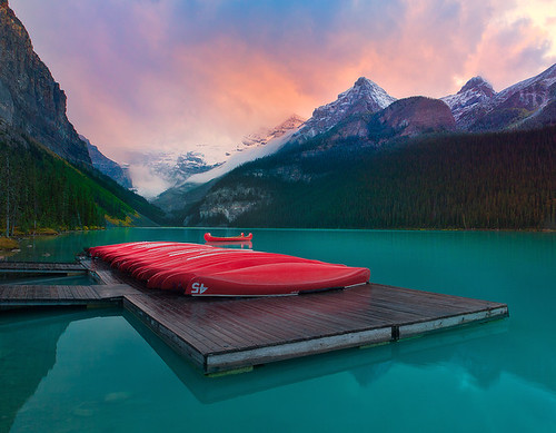 Lake Louise, Banff, Canadian Rockies | by kevin mcneal