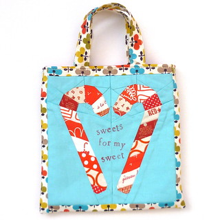 Candy Cane Love Paper Pieced Pattern | by verykerryberry