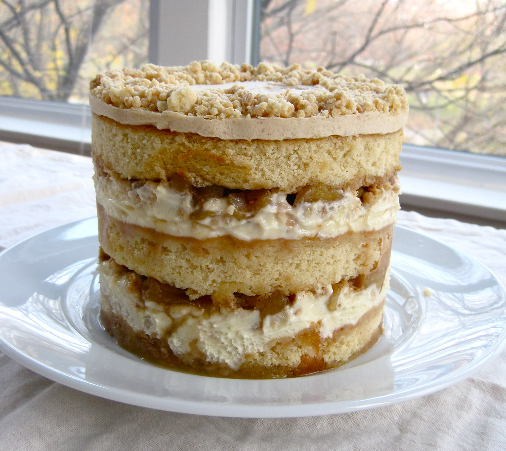 Apple Pie Layer Cake From The Momofuku Milk Bar Cookbook Flickr