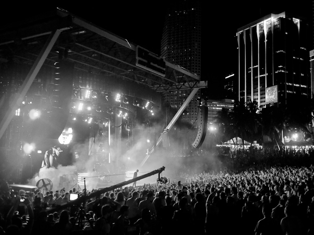 Live Stage Bassnectar Ultra Music Festival 2012 Flickr