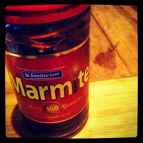 19. Funny. New Zealand is in the midst of a Marmite shortage. Yes, seriously. #marchphotoaday | by ohsarahrose