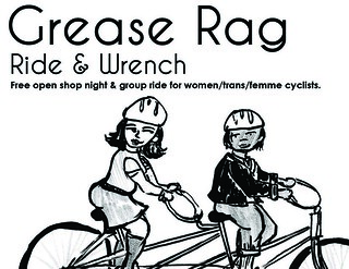1 panel flyer- Front | by Grease Rag Ride & Wrench