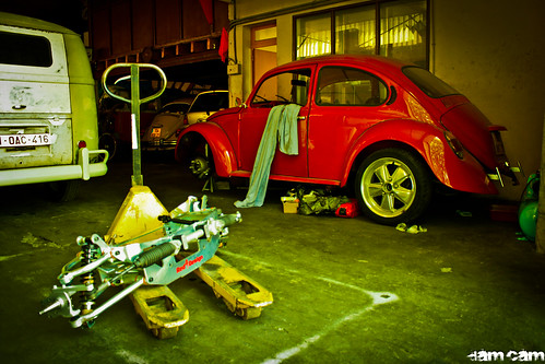 Black hands toulouse vw cox garage 2 damien camus for Garage tuning toulouse