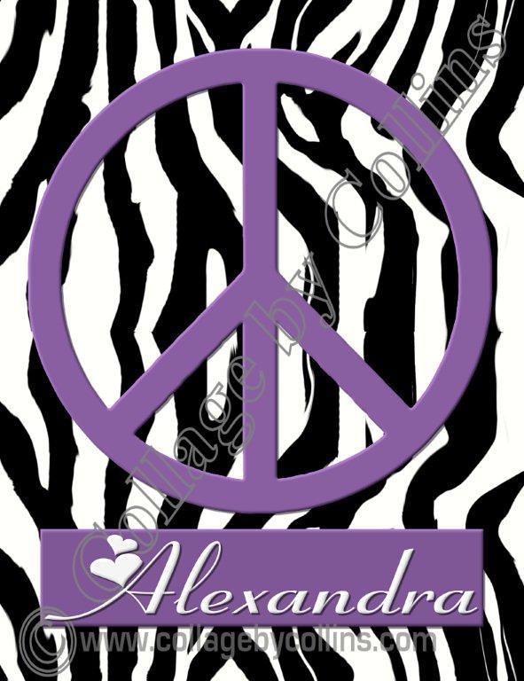 Personalized, wall, art, décor, leopard, zebra, giraffe, a… | Flickr