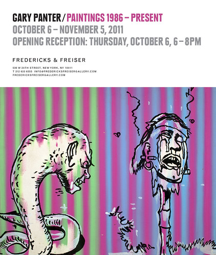 Gary Panter at the Fredericks & Freiser Gallery, NYC | by fantagraphics